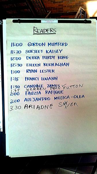 A Readers List 2011