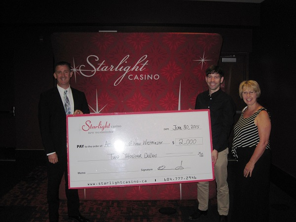 Starlight Casino Donation - June 30 2015