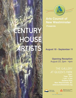 ACNWCentury House Artists Poster - WEB