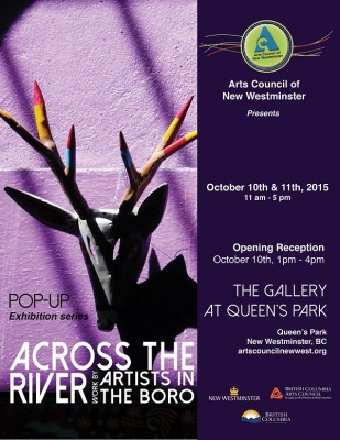 ACNW Artists in the Boro pop up Poster - web