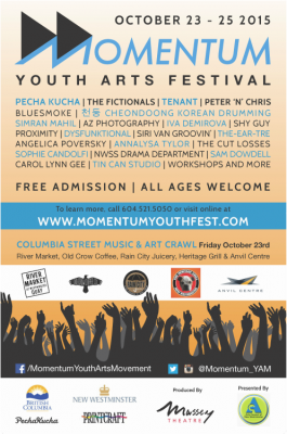 Momentum Youth Festival Poster - 2015