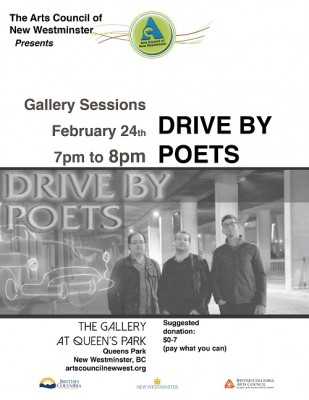 ACNW - Gallery Sessions - Drive By Poets Poster - Feb 2016 - web