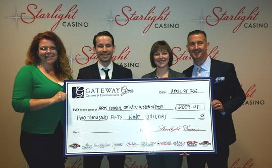 ACNW - Starlight Casino Donation - April 2016 -web