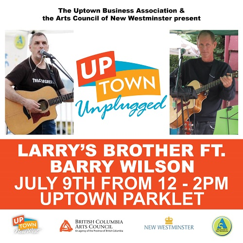 ACNW - Uptown Unplugged - Larry's Brother ft. Barry Wilson - July 2016 - web