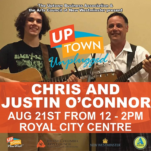 ACNW - Uptown Unplugged - Chris and Justin O'Connor - web - August 2016