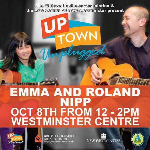 ACNW - Uptown Unplugged - Emma and Roland Nipp - web - Oct 2016