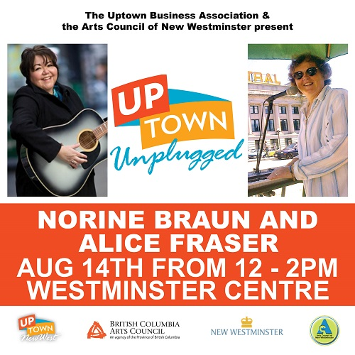 ACNW - Uptown Unplugged - Norine Braun - web - August 2016